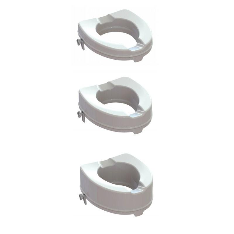 Alzawater rialzo seduta wc Disabili sistema bloccaggio Ares K-Design