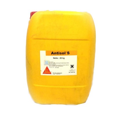 ANTISOL S ANTIEVAPORANTE CALCESTRUZZO PRONTO ALL'USO 25 KG