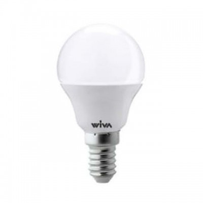 Lampadine led miniglobo 4W E14 P45 Wiva 12100220/274/218 4619
