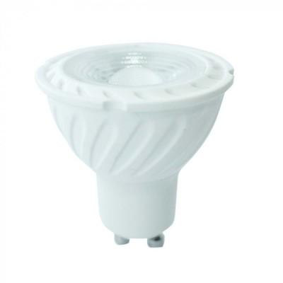 FARETTI LED 6,5W GU10 SAMSUNG CHIP SMD SPOTLIGHT LUCE FREDDA 6400K V-TAC VT-247 194