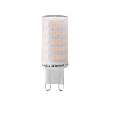 LAMPADINE LED G9 4W SMD CORPO IN CERAMICA LUCE CALDA 3000K KANLUX ZUBI MOD. 24524