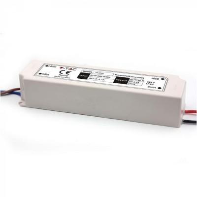 ALIMENTATORE STRISCE LED IMPERMEABILE ESTERNO 12V 100W IP67 1 USCITA V TAC VT-22101 3236