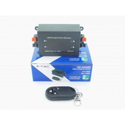 CONTROLLER PER STRISCE LED CON TELECOMANDO 3 TASTI V-TAC 3300