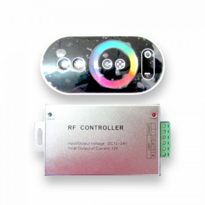 CONTROLLER PER STRISCE LED RGB MULTICOLORE CON TELECOMANDO TOUCH V-TAC 3312