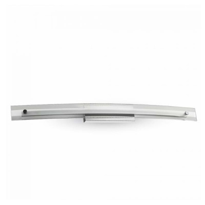 Lampada led specchio 12W applique acciaio inox cromo 4000K V-Tac VT-7013 3896