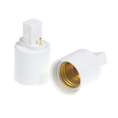Adattatore riduttore 2 PIN da G23 a E27 Life 39.PA2327