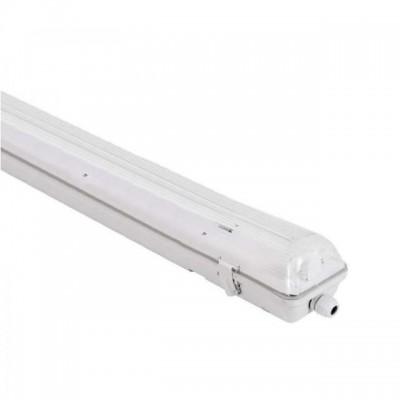 Plafoniera stagna IP65 singola per tubo led 60 cm T8 esterno Life 39.PFL0106