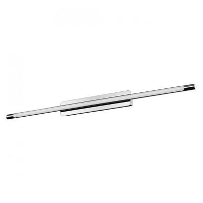 Lampada led specchio a muro 12W acciaio inox cromo 65 cm Luce naturale V-Tac VT-7014 3902