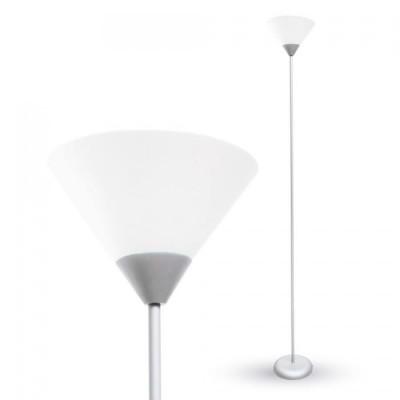 Piantana lampada metallo design V-Tac VT-7500 grigio 7056