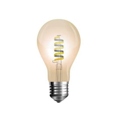 LAMPADINE LED E27 4W A FILAMENTO VETRO AMBRATO LUCE CALDA 2200K V TAC VT-2154 7335