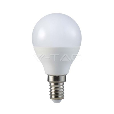 LAMPADINE LED E14 P45 5.5W SMD MINIGLOBO LUCE CALDA 2700K 2 PZ V TAC VT-2146 7355