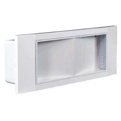 LAMPADA DI EMERGENZA LED 11W 20 LED SMD IP40 BEGHELLI STILE IN 1499 8106/11 SE8P