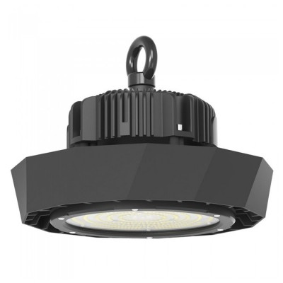 Campana lampada industriale led 100W IP65 dimmerabile Highbay disco ufo shape Samsung chip V TAC PRO VT-9-102 566 567