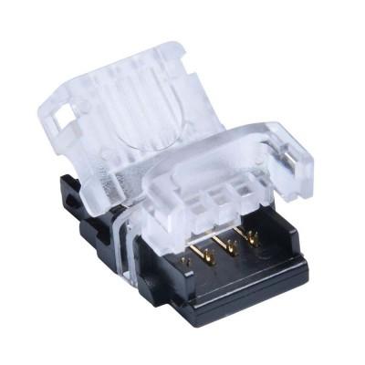 CONNETTORE CONSECUTIVO PER STRISCE LED RGB MULTICOLORE 5050 3528 4 PIN ESTERNO IP65 EX-00065