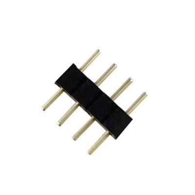 CONNETTORE 4 PIN MASCHIO CONSECUTIVO PER STRISCE LED RGB 5050 3528 DIRETTO EX-00068