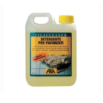 Detergente detersivo concentrato pavimenti neutro 1 L Filacleaner Fila