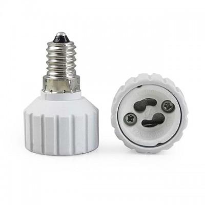 Adattatore riduttore convertitore portalampada lampadine E14 a GU10 Life 39.PA1410