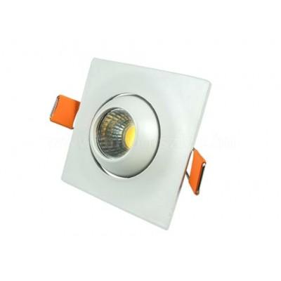 Faretti led incasso cob 3W IP20 quadrato orientabile V Tac VT-1133 SQ 5095/5096/5097
