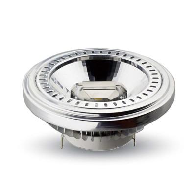 Faretto led cob incasso G53 15W AR111 lampada luce naturale 4000K V Tac VT-1110 4256