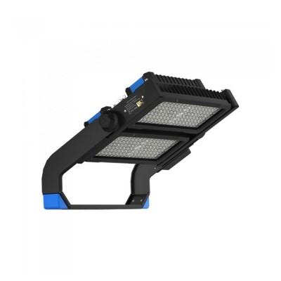 Faro led 500W dimmerabile nero esterno Samsung SMD chip IP65 V TAC SUPER PRO VT-503D VT-502D