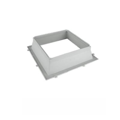 Formella per piastra vetromattone pedonabile 23x23