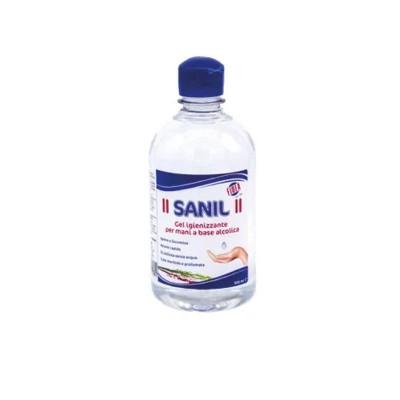 Gel igienizzante mani a base alcolica PH neutro Sanil 500 ml