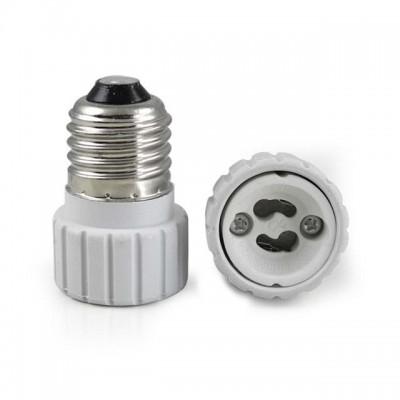 Adattatore riduttore convertitore portalampada lampadine E27 a GU10 LIFE 39.PA2710