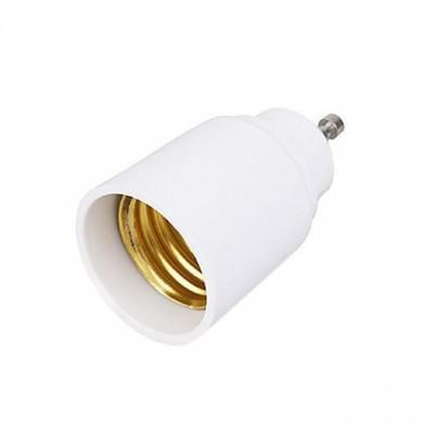 Adattatore riduttore convertitore portalampada lampadine GU10 a E27 Life 39.PA1027