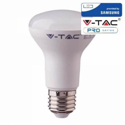 LAMPADINE LED E27 10W R80 SAMSUNG REFLECTOR LUCE NATURALE 4000K V TAC VT-280 136