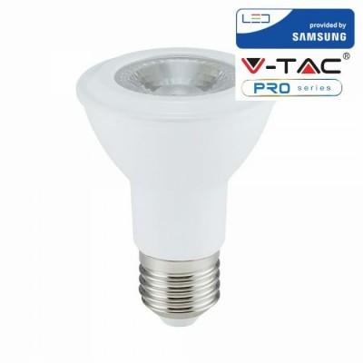 LAMPADINE LED E27 7W PAR20 SAMSUNG LUCE CALDA 3000K V TAC VT-220 147