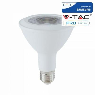 LAMPADINE LED E27 11W PAR30 SAMSUNG LUCE CALDA 3000K V TAC VT-230 153