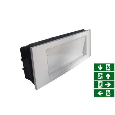 LAMPADA D' EMERGENZA LED 3,8W LED SMD IP20 V-TAC VT-511 8249