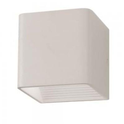 Applique lampada a muro cubo doppio fascio led 5W IP44 bianco esterno V-Tac VT-758 7085/7095