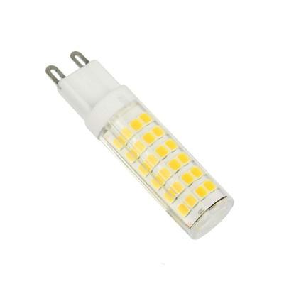 LAMPADINE LED G9 6W SMD PANNOCCHIA LUCE CALDA 3000K UNIVERSO