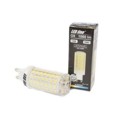 Lampadine led G9 12W SMD ceramica High Lumen luce calda 2700K LED LINE 248900
