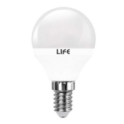 Lampadina led miniglobo E14 5W P45 sfera LIFE 39.920261C 39.920261F