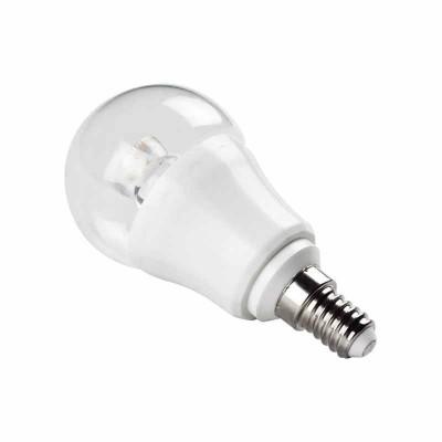Lampadine led cob E14 6W P50 bulbo trasparente Aigostar 182991 182984