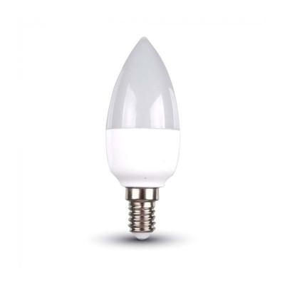 Lampadine led candela E27 5,5W oliva Luce calda 2700K V Tac VT-1821N 43421