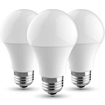 LAMPADINE LED E27 11W=75W SMD A60 KIT 3 PZ BULBO LUCE NATURALE 4000K V TAC VT-2113 7353 -PROMO 3x2-