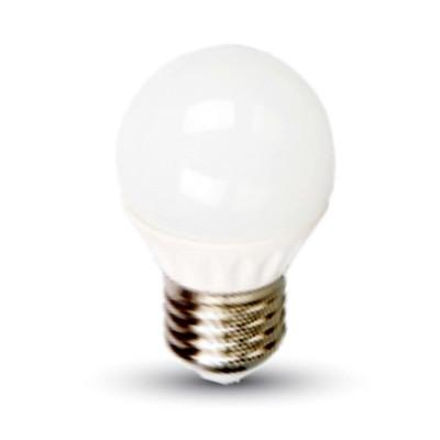 Lampadine led miniglobo E27 4W G45 V Tac VT-1830 4160 4162 4207