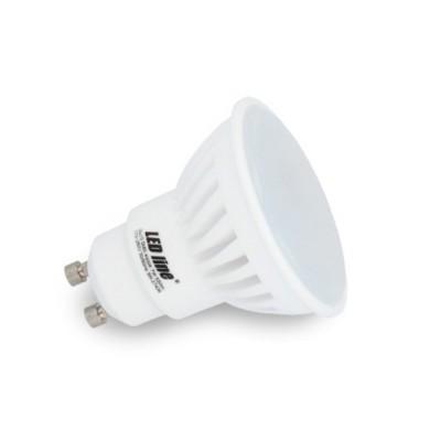 FARETTI LED GU10 7W SMD CERAMICA HIGH LUMEN SPOT LIGHT LUCE CALDA 2700K LED LINE 247613
