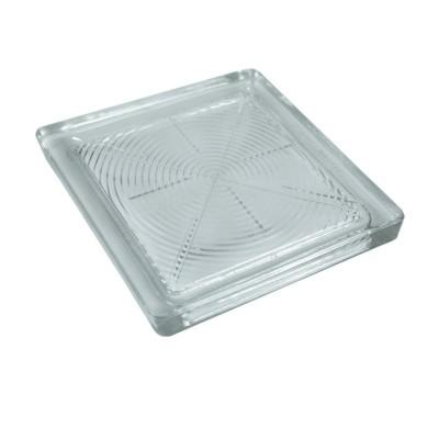 Mattone piastra vetro pedonale vetromattone lucernaio bocca lupo pavimento 20x20x2,2