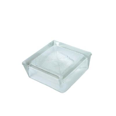 Mattoni in vetro a tazza vetromattoni pavimento pedonabili 19X19X7