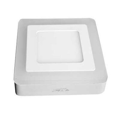 Pannello bi-led plafoniera bianco quadrato 8W 15x15 V Tac VT-809SQ 4922 4923 4924