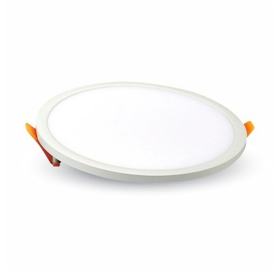 Pannello led rotondo incasso bianco 10 cm 8W Luce fredda V Tac VT-888 RD 4933