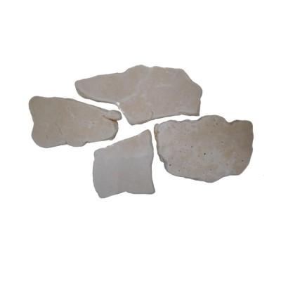 Pavimento in pietra palladiana mosaico informe antichizzato Salento Trullaia