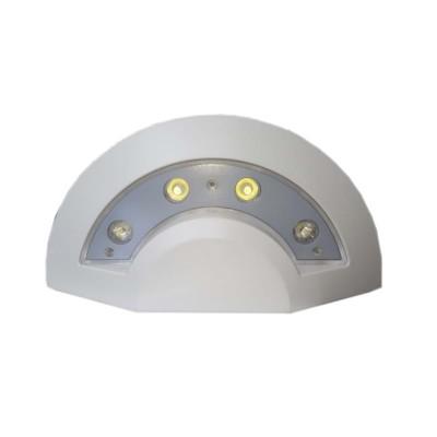 Applique led plafoniera esterno 4W COB IP65 bianca Luce fredda Wisdom Xc-B9305