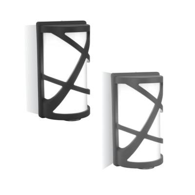 Plafoniera applique a muro IP54 portalampada E27 esterno V-Tac VT-745 7064/7065