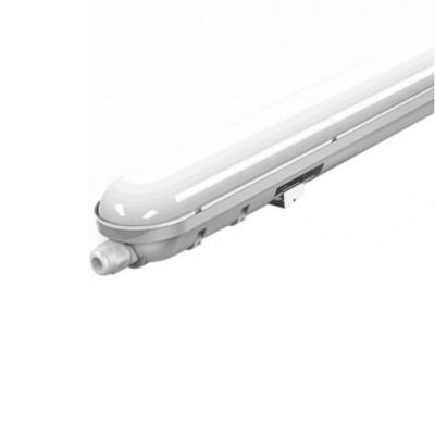 Plafoniera led esterno impermeabile 60 cm 18W IP65 V Tac Vt-6048 6198 6199