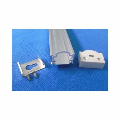 PROFILO IN ALLUMINIO OPACO 16,9X12,48X1000 PER STRISCE LED V TAC VT-7102 9983